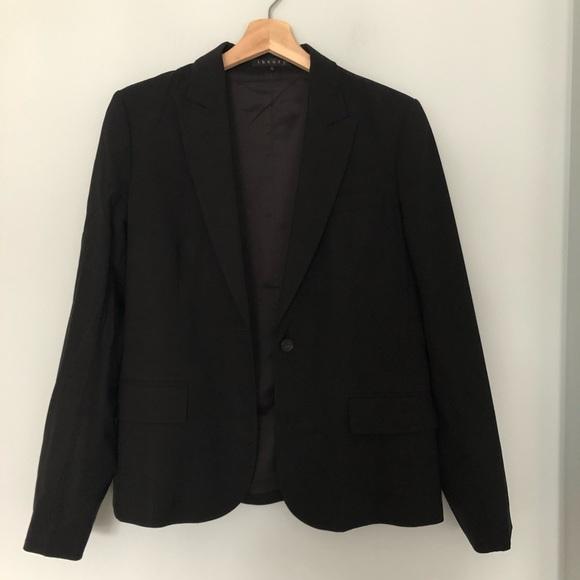 Theory Jackets & Blazers - Theory virgin wool single breasted blazer